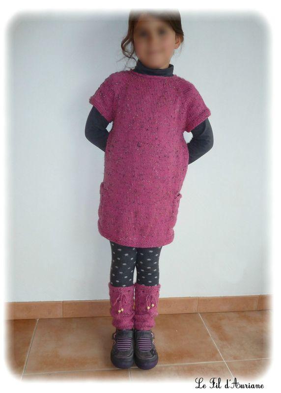 modèle tricot 2 ans gratuit