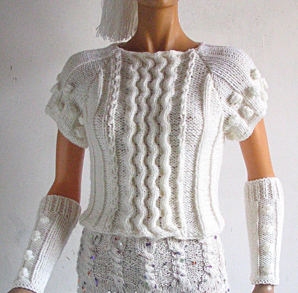tricoter a la main