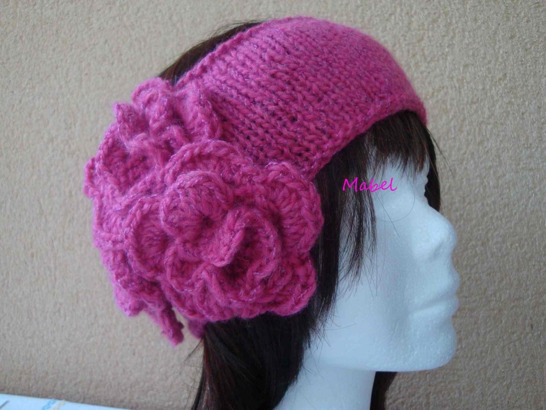 Fleur En Tricot Pour Bonnet df49ef9bd59