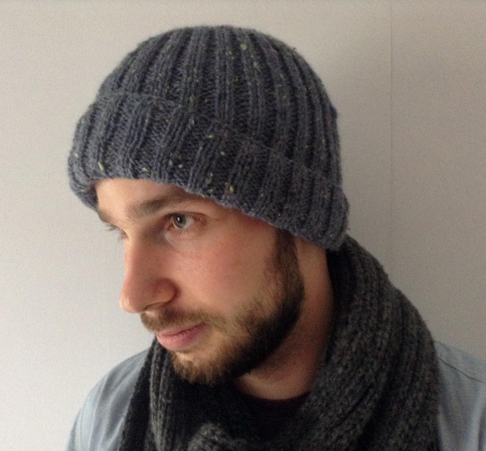 tricoter un bonnet marin