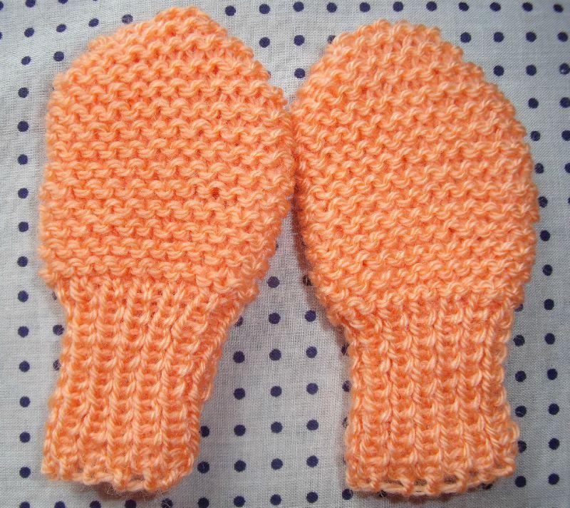 Mod le tricot gratuit moufles b b - Modele mitaine tricot facile ...