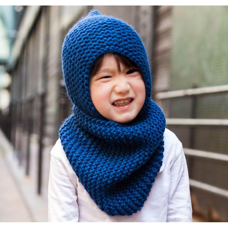 4c6246495f6f Tricoter une écharpe tube pour enfant - balbuzard-migration.fr
