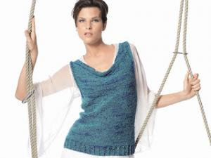 patron tricot debardeur