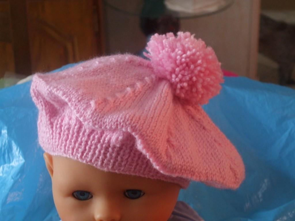Cliché modèle tricot beret bébé gratuit 5a914f44978