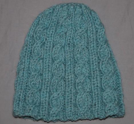 cliché modèle tricot bonnet homme