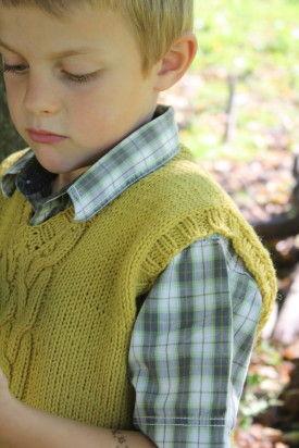 modele tricot gratuit debardeur homme