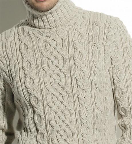 modèle tricot irlandais gratuit