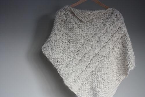 poncho tricote
