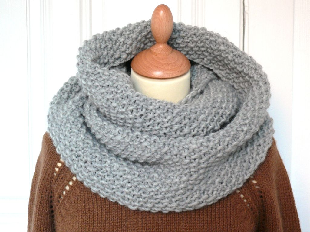 modele snood facile gratuit