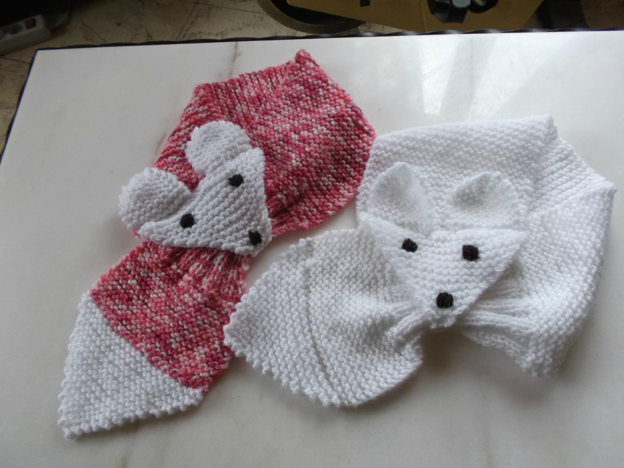 tuto tricot echarpe bebe