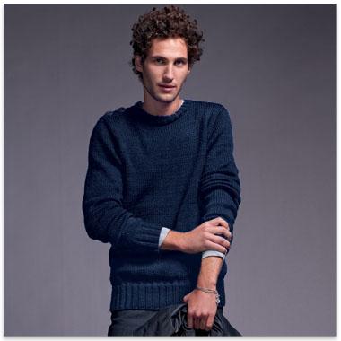 modèle pull tricoter gratuit pour homme