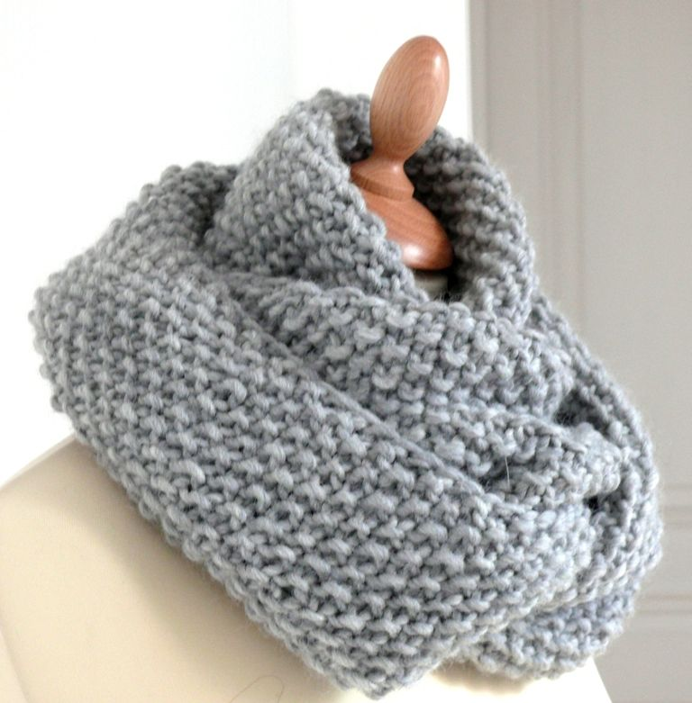 modele snood crochet 5