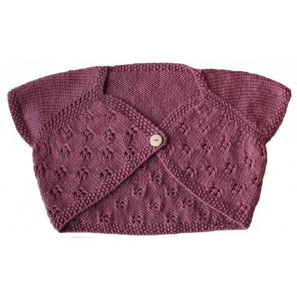 bolero bebe tricot