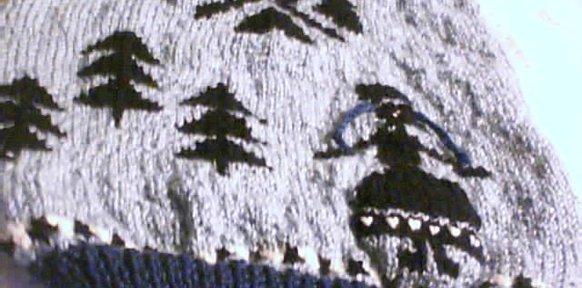 modèle tricot jacquard animaux