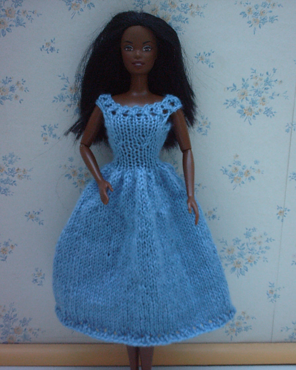 Mod le tricot robe barbie - Image de barbie ...