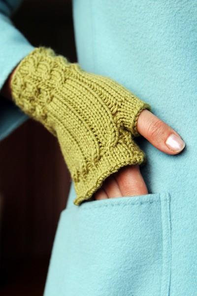 modèle explication tricot mitaine