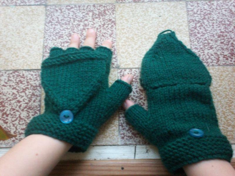 Mod le tricot mitaine moufle - Modele mitaine tricot facile ...
