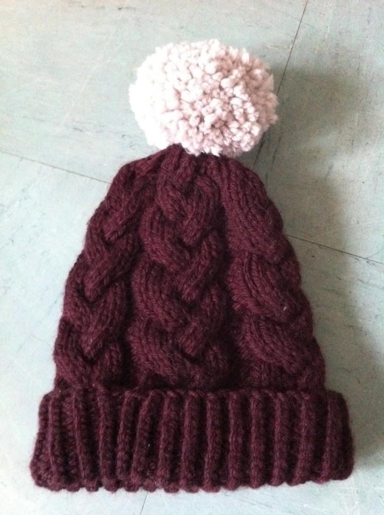 Patron tricoter une tuque - Tricoter avec une aiguille circulaire ...