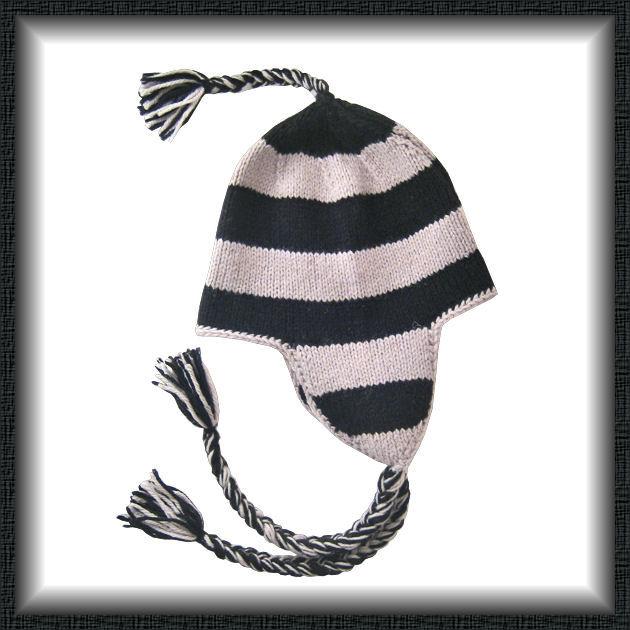 modèle tricot bonnet peruvien 4 ans