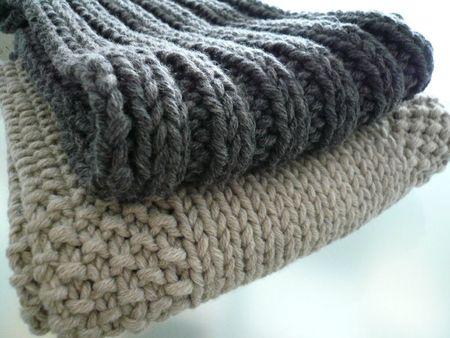 modele echarpe a tricoter homme
