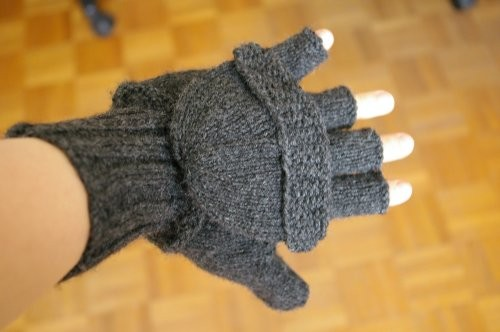 patron tricot moufles femme