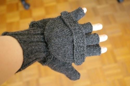 modele tricot moufles femme