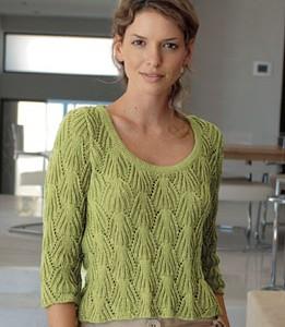 modèle tricot pull ete