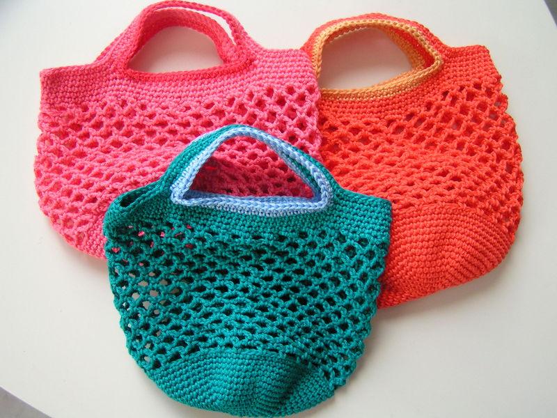 Mod le tricot sac petite fille - Sac en tricot a faire soi meme ...