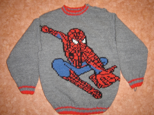 modle tricot spiderman - Spider Man Gratuit