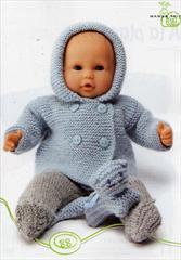 modele tricot gratuit pour poupon 36 cm