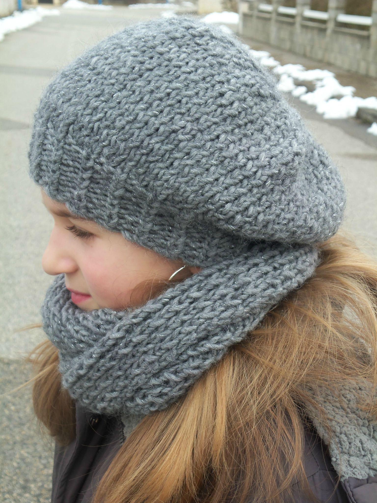 Mod le tricot bonnet beret - Modele de bonnet a tricoter facile ...