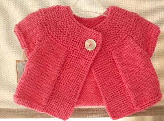 modèle tricot fille 6 mois