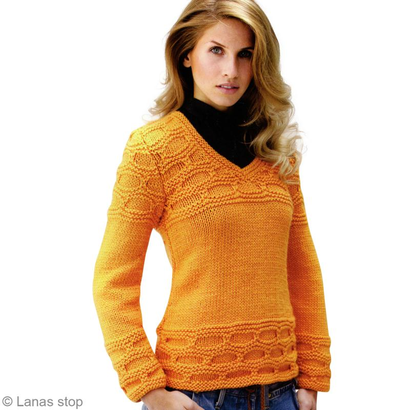 modele pull hiver femme a tricoter