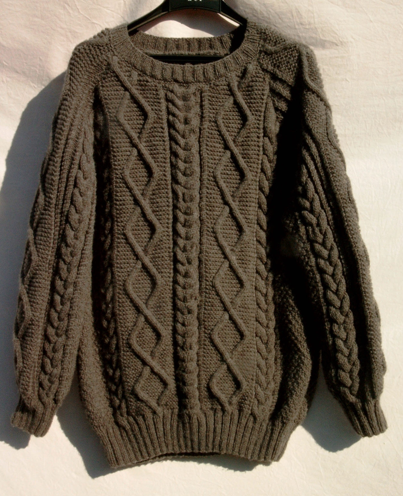 modele tricot homme irlandais