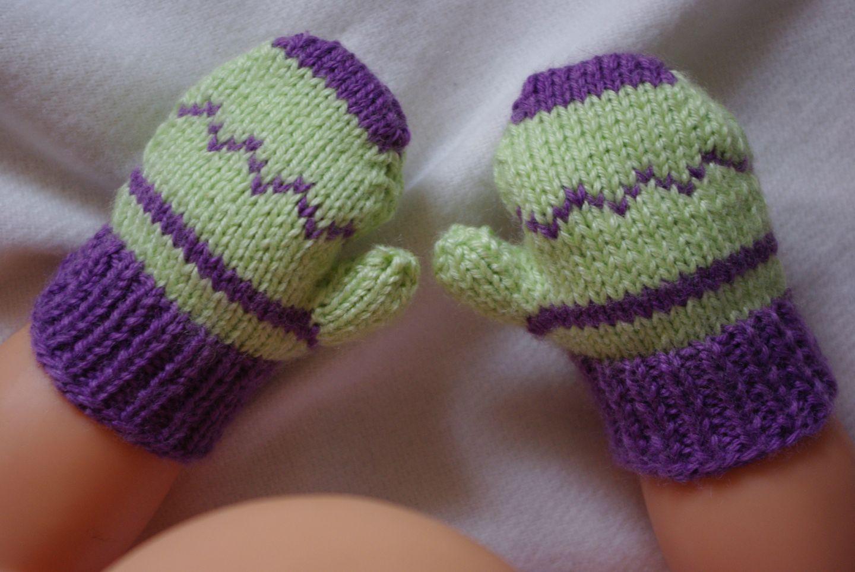 modele tricot moufles bebe gratuit