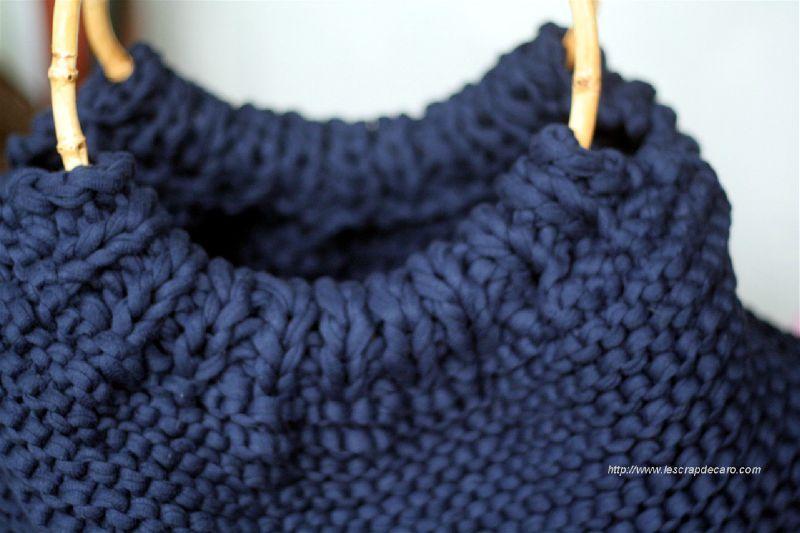 Tricoter un sac zpagetti - Sac en tricot a faire soi meme ...