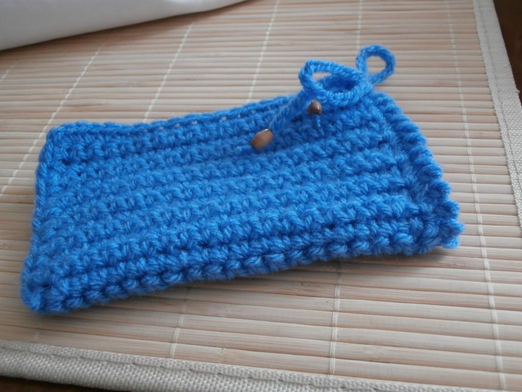 modèle tricot housse portable