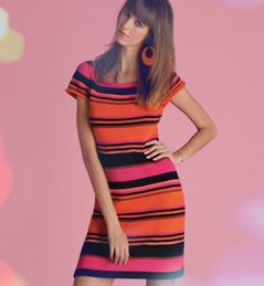 aa55749a152 illustration modèle robe tricot pour femme