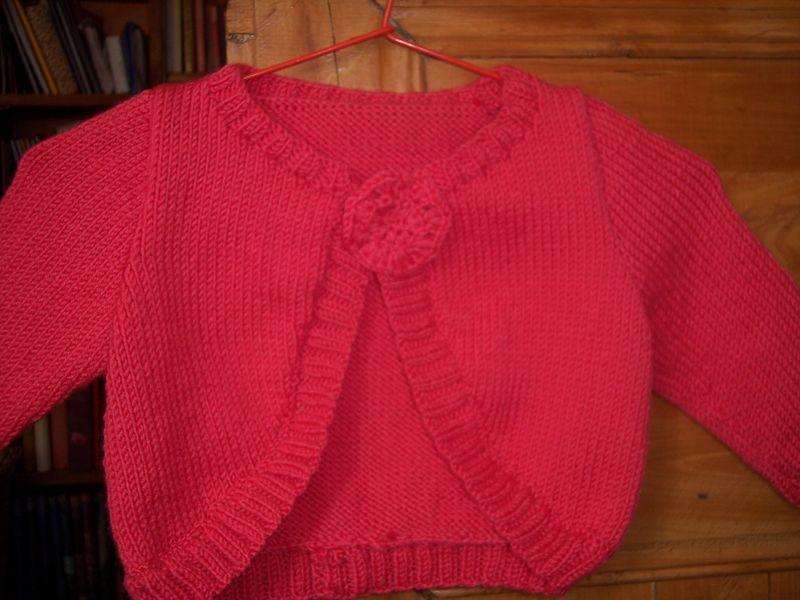 Modele tricot bolero - Apprendre a tricoter gratuitement ...