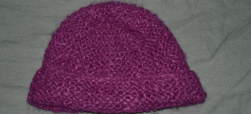 Illustration mod le tricot bonnet femme facile - Modele tricot bonnet femme facile ...