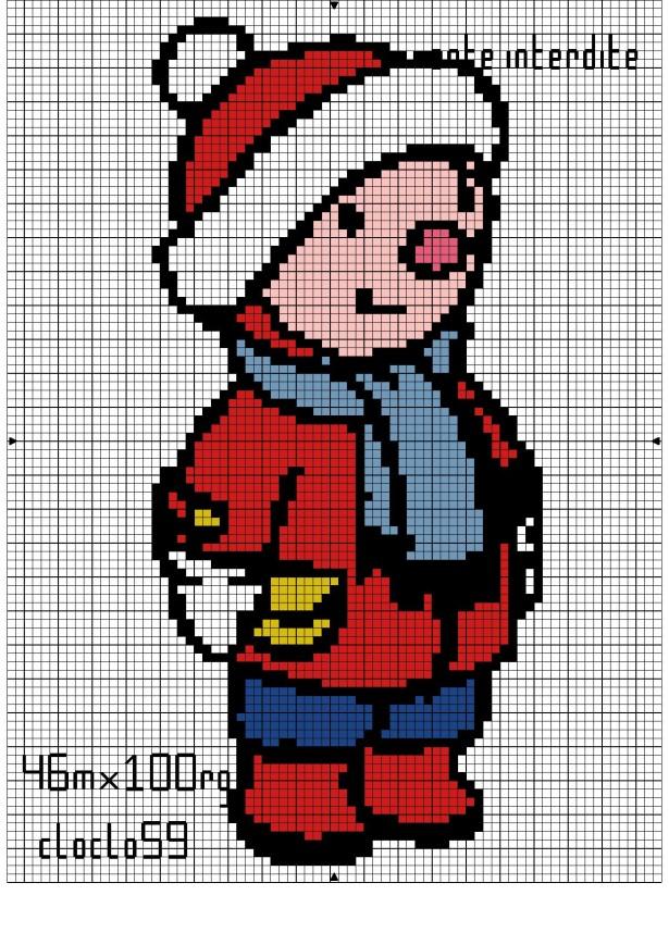 modèle tricot tchoupi