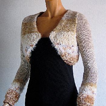 modele de bolero en tricot