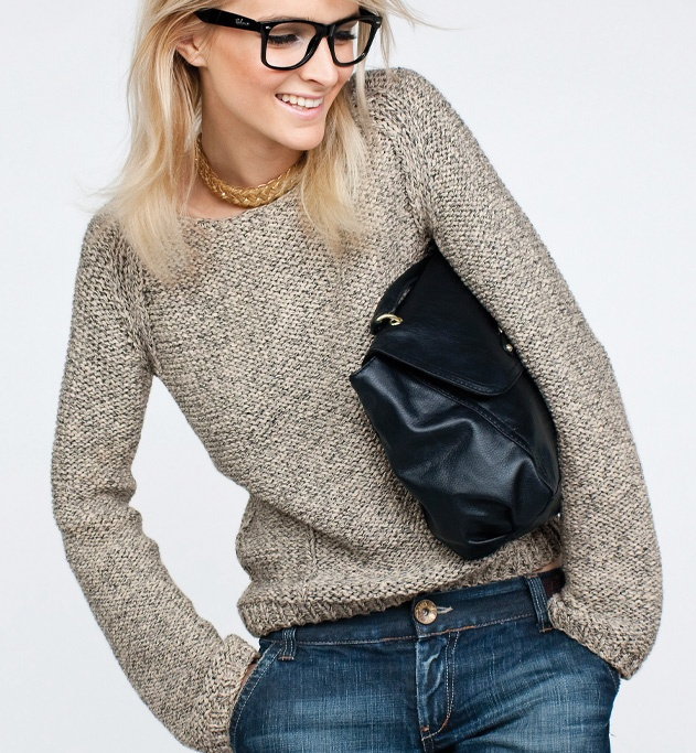 modele tricot facile pull