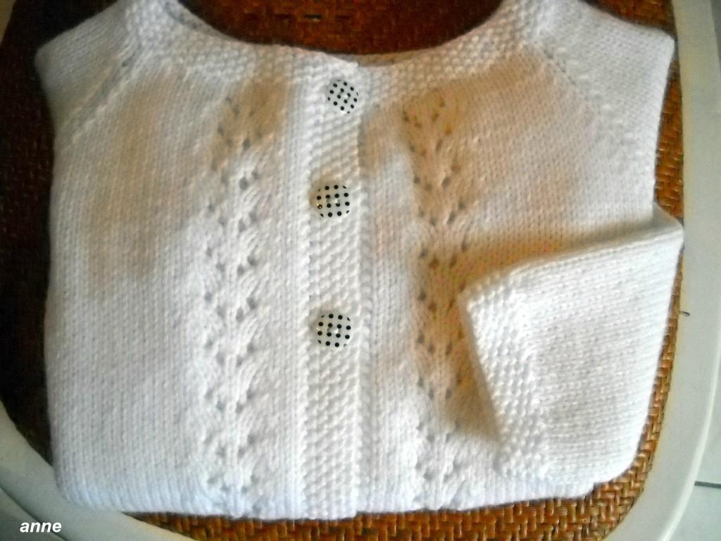 patron tricot gilet fille 12 ans
