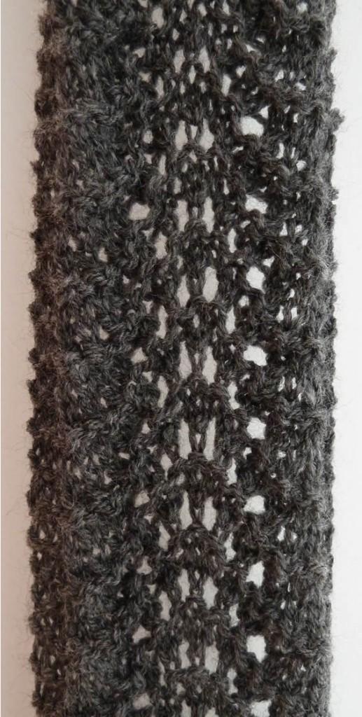 448f61123f6c aide modèle echarpe tricot dentelle gratuit