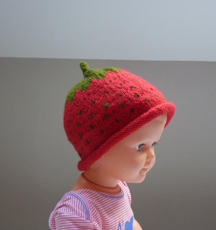 28df1d347a0 modèle tricot bonnet fraise