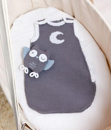 modèle tricot doudou chouette