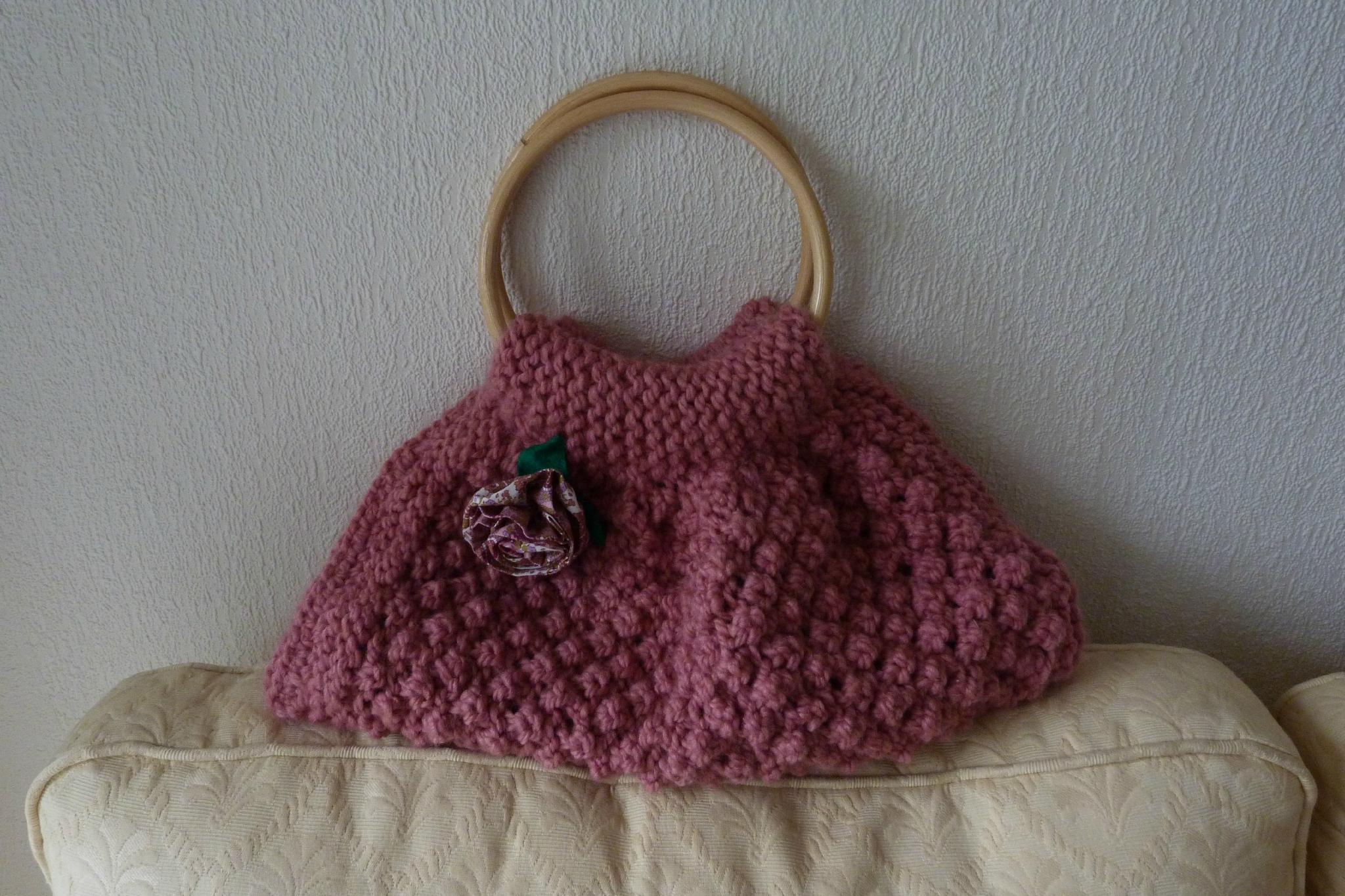 Modèle De Sac à Main Gratuit : Mod?le tricot sac a main gratuit