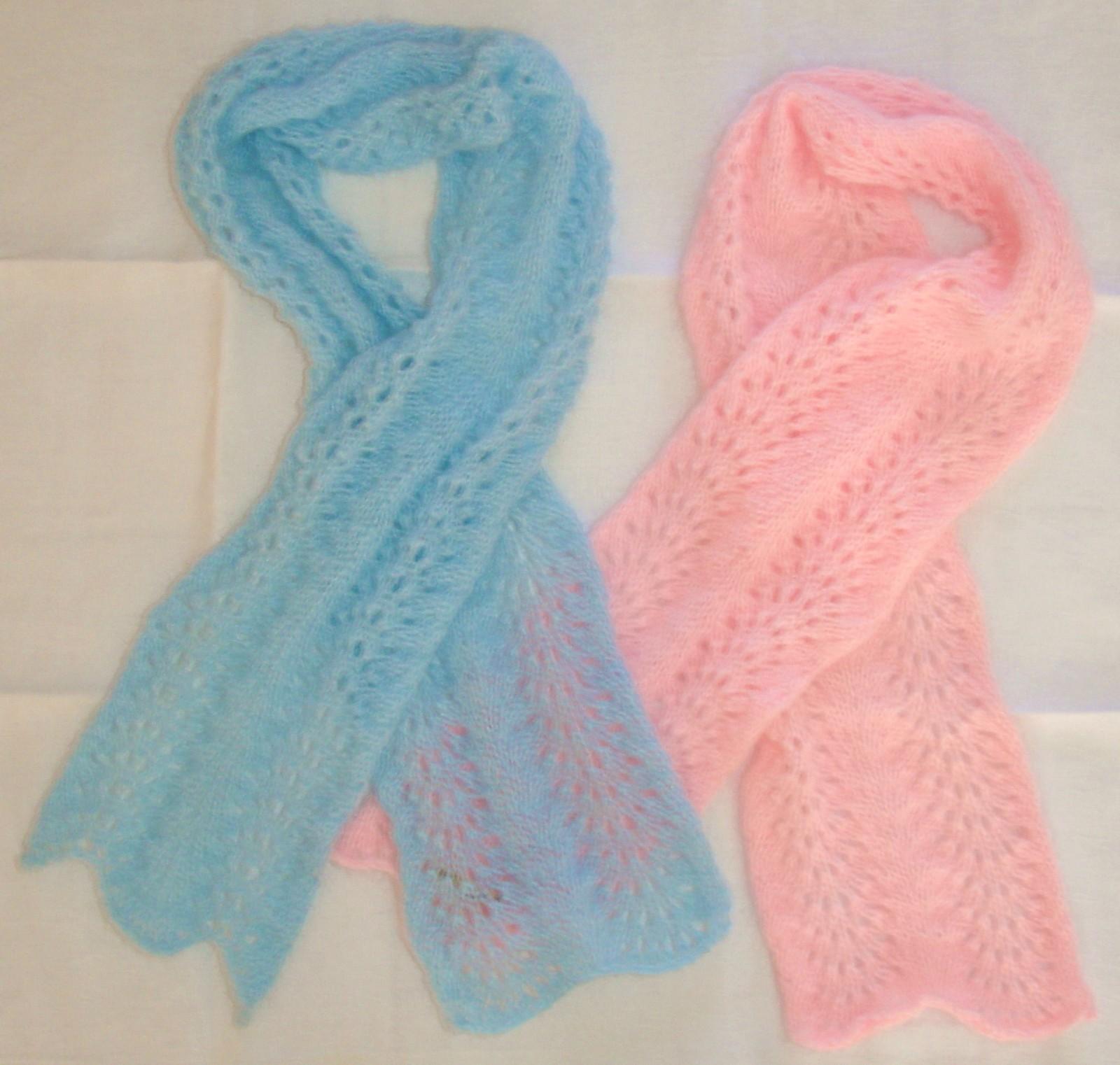 0de770babbf0 modèle echarpe tricot dentelle gratuit