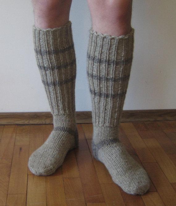 modèle tricot chaussettes homme